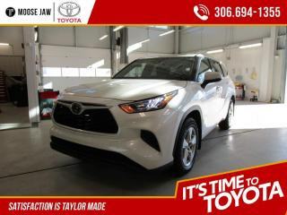 New 2020 Toyota Highlander LE AWD for sale in Moose Jaw, SK