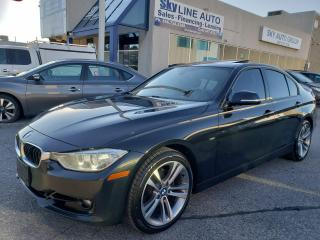 Used 2012 BMW 328 i 6 SPEED MANUAL HUD CAMERA NAVIGATION CERTIFIED for sale in Concord, ON