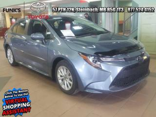 New 2021 Toyota Corolla LE Upgrade Package  - Sunroof for sale in Steinbach, MB