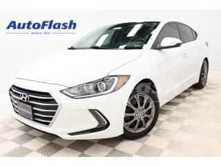 Used 2018 Hyundai Elantra GL *Blind-Spot *Cross-Traffic *Camera *Bluetooth for sale in St-Hubert, QC