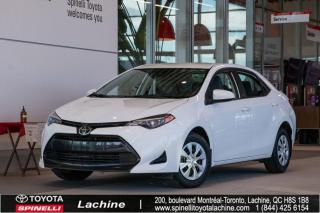 Used 2017 Toyota Corolla CE AUCUN DOMMAGES! for sale in Lachine, QC