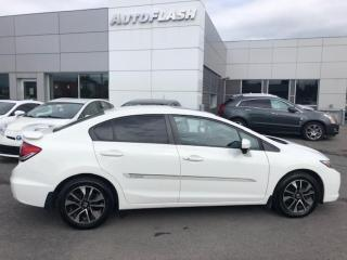 Used 2015 Honda Civic EX *Ailerond/Wing *Bluetooth *Camera *Toit-Ouvrant for sale in St-Hubert, QC