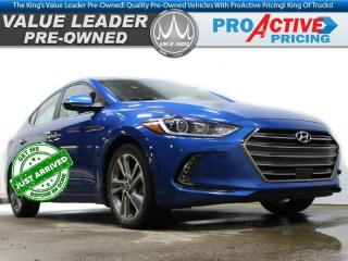 Used 2018 Hyundai Elantra Limited   2.0L 4cyl   HTD Leather Buckets   HTD St for sale in Virden, MB