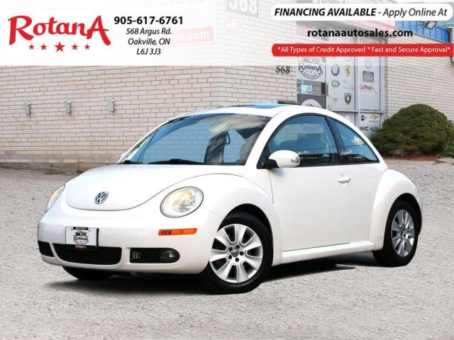 2010 Volkswagen New Beetle ACCIDENT FREE_LEATHER_SUNROOF