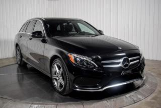 Used 2018 Mercedes-Benz C-Class C300 WAGON 4 MATIC CUIR TOIT PANO NAV MA for sale in St-Hubert, QC