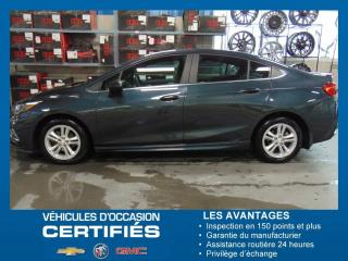 Used 2018 Chevrolet Cruze LT for sale in Amos, QC