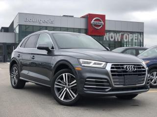 Used 2018 Audi Q5 2.0T Technik LEATHER, NAVIGATION, MOONROOF for sale in Midland, ON