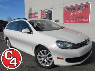 Used 2012 Volkswagen Golf Wagon TRENDLINE MAN MAGS A/C BLUETOOTH for sale in St-Jérôme, QC