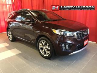 Used 2016 Kia Sorento 2.0L SX AWD | Leather | Nav | Sunroof | 5-Pass for sale in Listowel, ON
