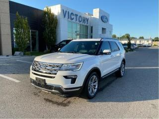 Used 2018 Ford Explorer Limited| 301A| PANO ROOF| NAV| ADAPTIVE CRUISE for sale in Chatham, ON