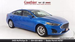 Used 2020 Ford Fusion Hybrid SEL 4Dr., 2.0L Hybrid, Heated Leather Seats, Rear for sale in Winnipeg, MB