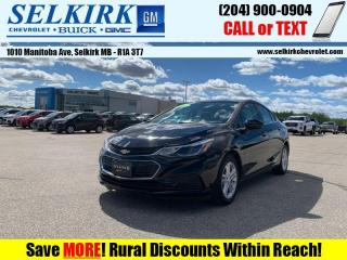 Used 2018 Chevrolet Cruze LT  *HEATED SEATS, REMOTE START* for sale in Selkirk, MB