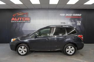 Used 2016 Subaru Forester 2.5i AWD CVT CONVENIENCE CAMERA BLUETOOTH 103 682 for sale in Lévis, QC