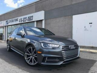 Used 2017 Audi A4 PROGRESSIVE/S-LINE-LOADED for sale in Toronto, ON