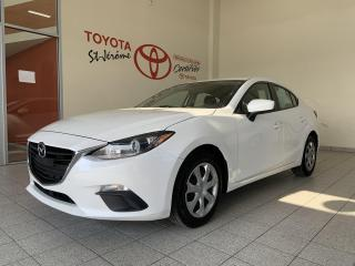 Used 2016 Mazda MAZDA3 * GS * CAMERA DE RECUL * BLUETOOTH * for sale in Mirabel, QC