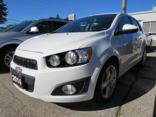 Used 2014 Chevrolet Sonic LT Auto for sale in St. Thomas, ON