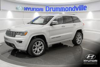 Used 2017 Jeep Grand Cherokee OVERLAND 4X4 + GARANTIE + NAVI + TOIT PA for sale in Drummondville, QC