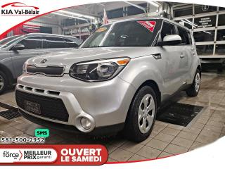 Used 2015 Kia Soul *LX*AIR*CRUISE*BLUETOOTH* for sale in Québec, QC