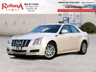 Used 2013 Cadillac CTS Luxury_Pano Roof_Navi_Rear Camera for sale in Oakville, ON
