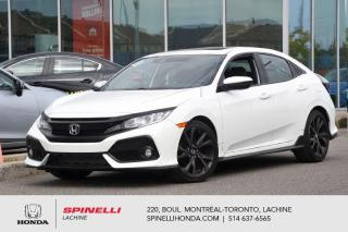 Used 2017 Honda Civic Sport AUTO TOIT MAGS AUTO MAGS TOIT HONDA SENSING BLUETOOTH CAM RECUL++ for sale in Lachine, QC