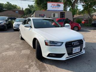 Used 2013 Audi A4 Premium for sale in Toronto, ON