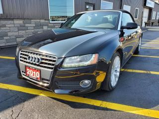 Used 2010 Audi A5 2.0L Premium-AWD-NAVIGATION-REAR CAMERA-LEATHER for sale in Tilbury, ON