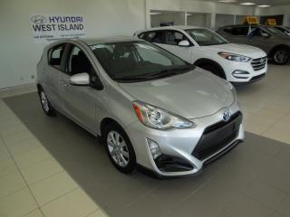 Used 2017 Toyota Prius c C AUTO A/C BT CRUISE CAMÉRA HYBRID for sale in Dorval, QC