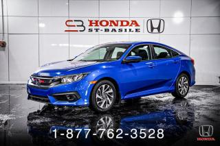 Used 2018 Honda Civic EX + AUTO + TOIT + A/C + MAGS + WOW! for sale in St-Basile-le-Grand, QC