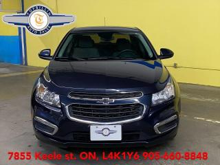 Used 2015 Chevrolet Cruze LT, 2 Years Warranty for sale in Vaughan, ON