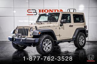 Used 2016 Jeep Wrangler RUBICON + 2 PORTES + CUIR + WOW! for sale in St-Basile-le-Grand, QC