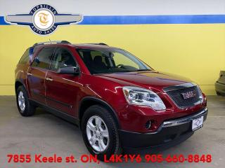 Used 2010 GMC Acadia SLE 7 Passenger, Extra Clean for sale in Vaughan, ON