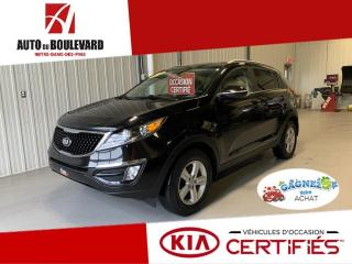 Used 2016 Kia Sportage LX GDI TOUT EQUIPE BAS KILO ++ ACCESSOIR for sale in Notre-Dame-des-Pins, QC