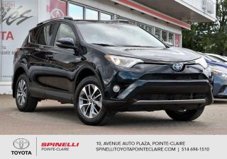 Used 2017 Toyota RAV4 Hybrid XLE AWD HYBRID! for sale in Pointe-Claire, QC