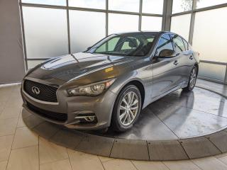 Used 2016 Infiniti Q50 NAVIGATION PACKAGE/CPO for sale in Edmonton, AB