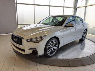 New 2020 Infiniti Q50 Signature Edition for sale in Edmonton, AB