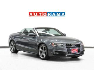 Used 2013 Audi A5 S-Line Quattro Progressiv Plus Nav Leather Bcam for sale in Toronto, ON