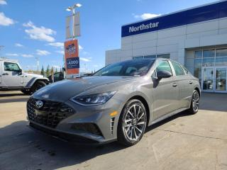 New 2020 Hyundai Sonata LUXURY- BLUELINK/LEATHER/PANORAMIC SUNROOF/APPLE CAR PLAY/BACK UP CAM for sale in Edmonton, AB