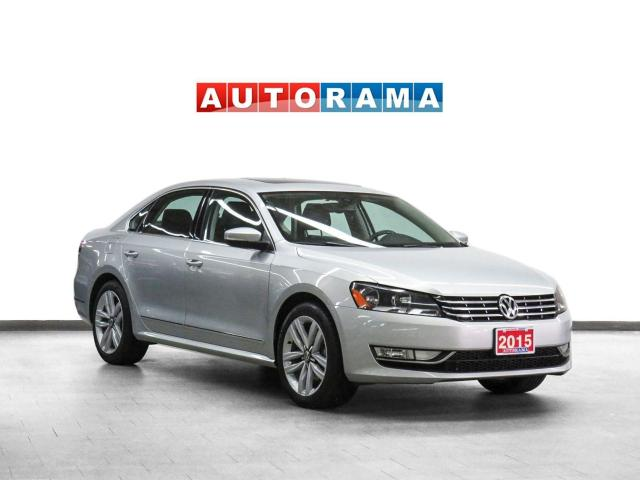2015 Volkswagen Passat 3.6L Highline Navigation Leather Sunroof Bcam