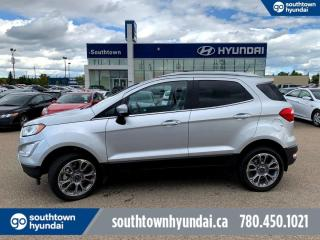 Used 2018 Ford EcoSport TITANIUM/LEATHER/NAVI/SUNROOF/SMART KEY/REMOTE STARTER for sale in Edmonton, AB