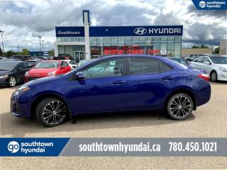 Used 2016 Toyota Corolla S/BACK UP CAM/BLUETOOTH/HEATED SEATS for sale in Edmonton, AB