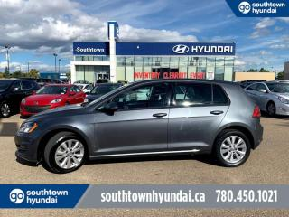 Used 2017 Volkswagen Golf AUTO/BACKUP CAM/LEATHER/ROOFHEATED SEATS for sale in Edmonton, AB