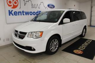 Used 2015 Dodge Grand Caravan 3 MONTH DEFERRAL! *oac | SXT Premium | Power Doors | Leather | for sale in Edmonton, AB