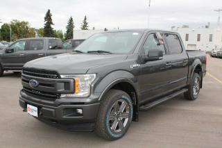 New 2020 Ford F-150 XLT 302A, 4X4 Supercrew, 5.0L V8, Auto Start/Stop, Cruise Control, Pre-Collision Assist, Reverse Sensing System, Rear View Camera, Remote Keyless Entry, Trailer Tow Package, Moonroof for sale in Edmonton, AB
