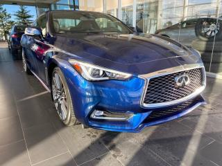 Used 2017 Infiniti Q60 3.0t Red Sport 400, ACCIDENT FREE, LOW KMS, TOP CONDITION, ONE OWNER for sale in Edmonton, AB