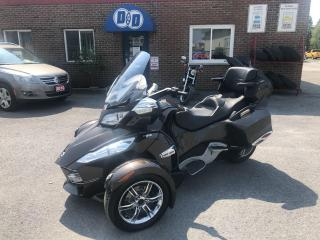 Used 2012 Can-Am Spyder RT Limited !!  $79 Bi Weekly OAC* !! for sale in Kingston, ON