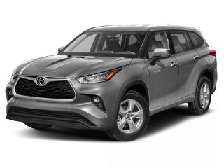 New 2020 Toyota Highlander Hybrid LE CALL NOW! for sale in Winnipeg, MB