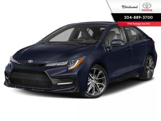 New 2021 Toyota Corolla SE STANDARD PACKAGE for sale in Winnipeg, MB