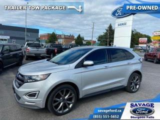 Used 2016 Ford Edge Sport  - Trade-in - Power Liftgate - $170 B/W for sale in Sturgeon Falls, ON