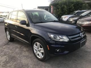 Used 2012 Volkswagen Tiguan Highline for sale in Gloucester, ON