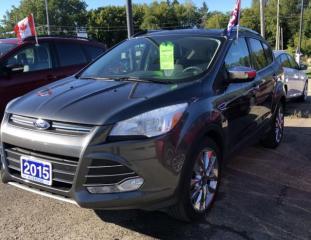 Used 2015 Ford Escape SE for sale in Brockville, ON